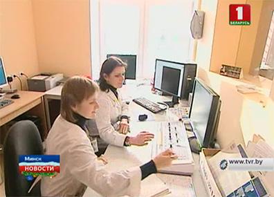 Президент посещает Минский онкологический диспансер Прэзідэнт наведвае Мінскі анкалагічны дыспансер