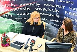 Онлайн-конференция с Головневой Елена Васильевной, консультантом управления социальной, воспитательной и идеологической работы Министерства образования Беларуси