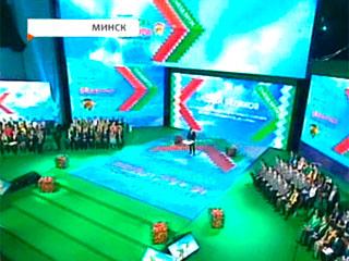 Во Дворце Республики проходит съезд Союза молодежи У Палацы Рэспублікі праходзіць з'езд Саюза моладзі