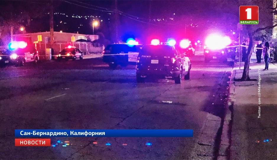 Минимум 10 раненых в результате стрельбы в Сан-Бернардино