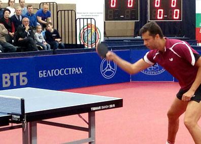Сборная Беларуси по настольному теннису в Минске принимает команду Венгрии