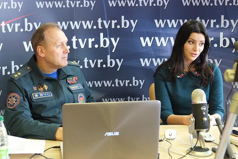 Онлайн-конференция ко Дню спасателя с Министром по чрезвычайным ситуациям Республики Беларусь Владимиром Ващенко