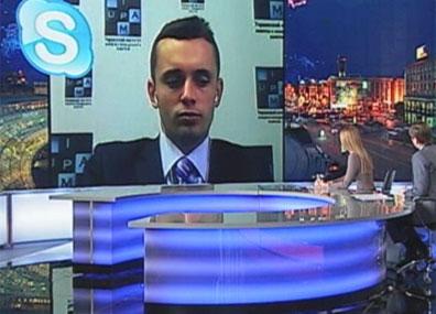 На связи со студией директор украинского Института анализа и менеджмента политики На сувязі са студыяй дырэктар украінскага Інстытута аналізу і менеджменту палітыкі