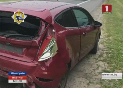 Специалисты выясняют обстоятельства аварии, которая произошла сегодня на трассе М 2 Спецыялісты высвятляюць акалічнасці аварыі, якая здарылася сёння на трасе М 2