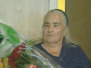 Сегодня свой 100-летний юбилей отмечает минчанка Софья Абрамова Сёння свой 100-гадовы юбілей адзначае мінчанка Соф'я Абрамава
