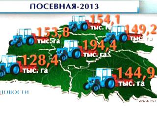 Всего 5% площадей осталось засеять в Беларуси Усяго 5% плошчаў засталося засеяць у Беларусі