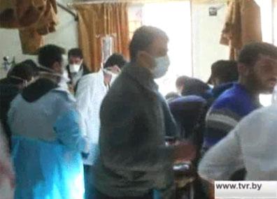 В сирийской провинции Идлиб  погибли десятки человек в результате химической атаки У сірыйскай правінцыі Ідліб  загінулі дзясяткі чалавек у выніку хімічнай атакі