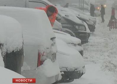 В Беларуси метели отступают У Беларусі завеі адыходзяць
