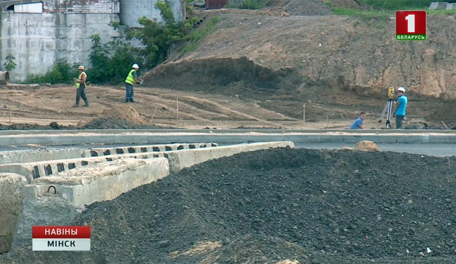 Южную магистраль построят в Минске к концу года Паўднёвую магістраль пабудуюць у Мінску да канца года