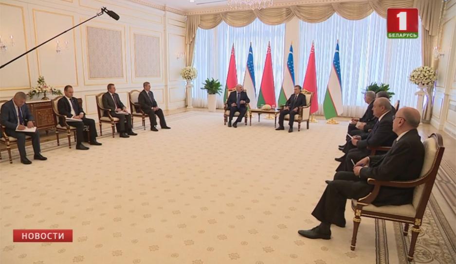Беларусь и Узбекистан договорились развивать широкоформатное сотрудничество во всех сферах  Беларусь і Узбекістан дамовіліся развіваць шырокафарматнае супрацоўніцтва ва ўсіх сферах