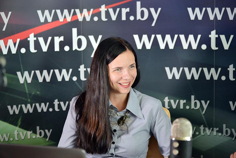 Онлайн-конференция с заместителем генерельного продюсера Белтелерадиокомпании Анной Елфимовой