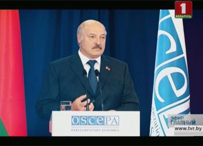 Впервые в Беларуси прошла сессия Парламентской ассамблеи ОБСЕ Упершыню ў Беларусі прайшла сесія Парламенцкай асамблеі АБСЕ First session of OSCE Parliamentary Assembly held in Belarus