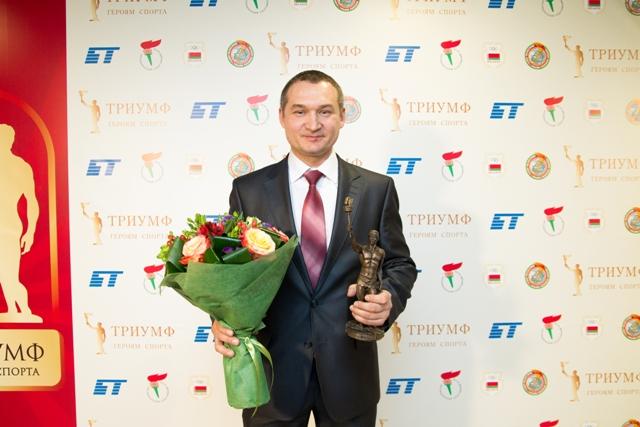 Анатолий Стромский. Генеральный секретарь Белорусской федерации биатлона