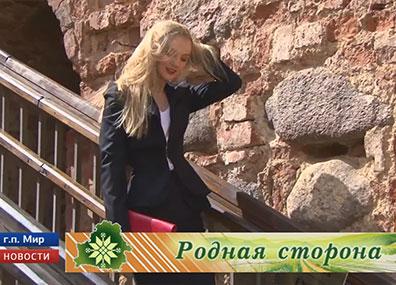 В Мирском замке прошел модный показ  У Мірскім замку прайшоў модны  Fashion show in Mir Castle