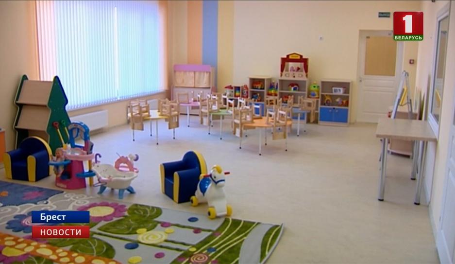 В Бресте в новом микрорайоне открыли крупнейший детский сад У Брэсце ў новым мікрараёне адкрылі найбуйнейшы дзіцячы сад