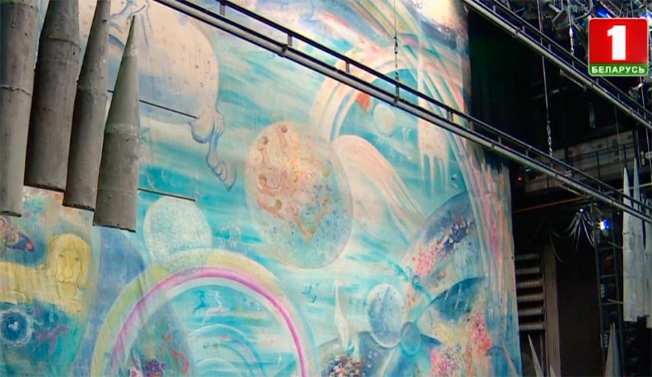 "Валентин Елизарьев восстанавливает балет ""Сотворение мира"" Валянцін Елізар'еў аднаўляе балет ""Стварэнне свету"" Valentin Yelizariev restores  ballet ""Creation of the World"""