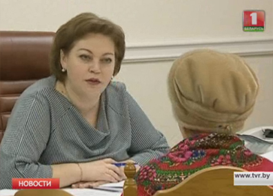 Жанна Тищенко проконсультировала по правовым и юридическим вопросам  Жанна Цішчанка пракансультавала па прававых і юрыдычных пытаннях