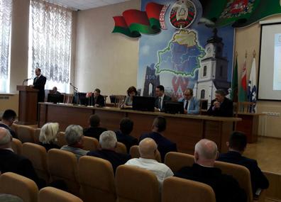 В Оршу прибыла делегация Лодзинского воеводства