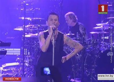 Белорусы услышат  новый альбом Depeche Mode вживую Беларусы пачуюць  новы альбом Depeche Mode ўжывую Belarusians to hear new album Depeche Mode live