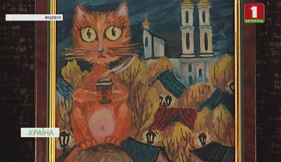 Жительница Витебска картины создает из шоколада Жыхарка Віцебска карціны стварае з шакаладу