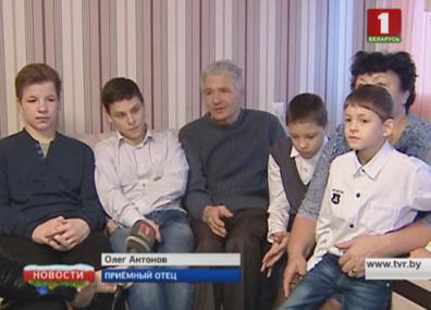 В Лоеве сегодня открыли детский дом семейного типа  У Лоеве сёння адкрылі дзіцячы дом сямейнага тыпу