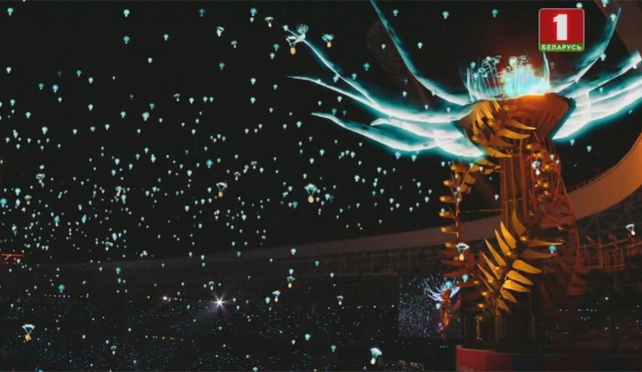 Церемония закрытия II Европейских игр Цырымонія закрыцця II Еўрапейскіх гульняў