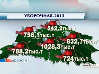 Минская область выбилась в лидеры уборочной кампании Мінская вобласць выбілася ў лідары ўборачнай кампаніі