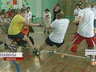 В столице проходят оздоровительные и спортивные встречи У сталіцы ладзяцца аздараўленчыя і спартыўныя сустрэчы