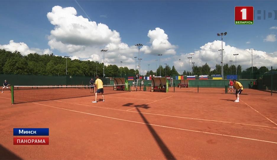 Дипломатический турнир. Послы встретились на теннисных кортах  Дыпламатычны турнір. Паслы сустрэліся на тэнісных кортах