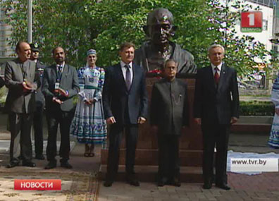 Президент Индии посетил БГУ Прэзідэнт Індыі наведаў БДУ  President of India visits main university in Belarus