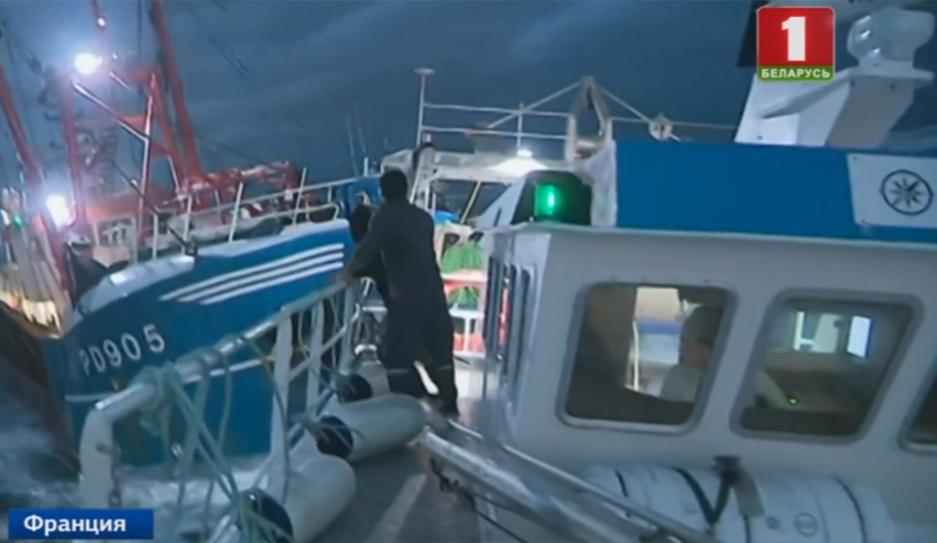 Морской бой в проливе Ла-Манш