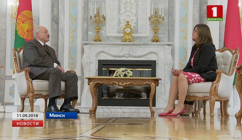Президент Беларуси встретился с председателем Конгресса местных и региональных властей Гудрун Мослер Тёрнстрём Прэзідэнт Беларусі сустрэўся з старшынёй Кангрэса мясцовых і рэгіянальных уладаў Гудрун Мослер Цёрнстрам Alexander Lukashenko meets with head of Congress of Local and Regional Authorities Gudrun Mosler-Törnström