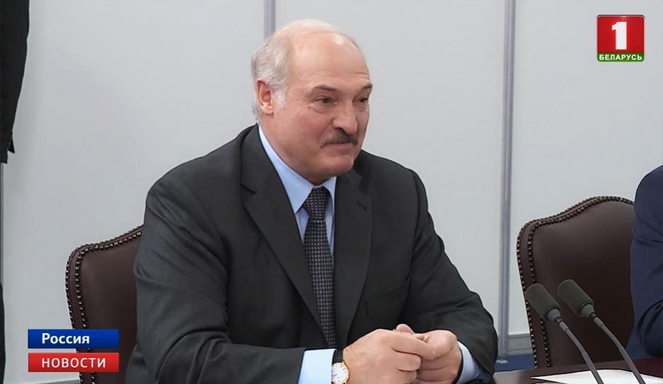 В Сочи начались переговоры Александра Лукашенко и Владимира Путина У Сочы пачаліся перамовы Аляксандра Лукашэнкі і Уладзіміра Пуціна Negotiations of Alexander Lukashenko and Vladimir Putin begin in Sochi