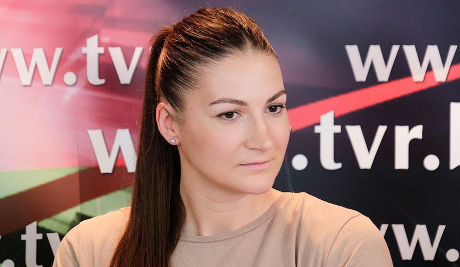 Лидер национальной баскетбольной женской сборной Беларуси Анастасия Веремеенко