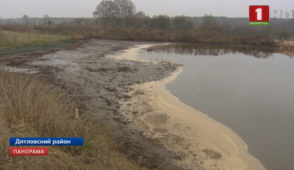 Деревню в Гродненской области заливают отходы фермы Вёску ў Гродзенскай вобласці заліваюць адходы фермы