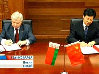Беларусь - Китай - время стратегического партнерства Беларусь - Кітай - час стратэгічнага партнёрства Belarus and China establish strategic partnership