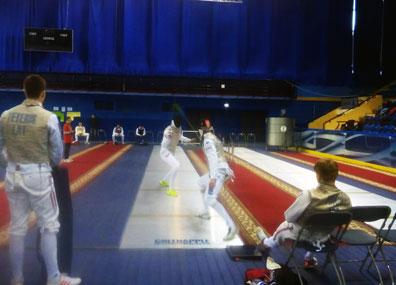 Чемпионат Европы по фехтованию U23 стартовал в Минске