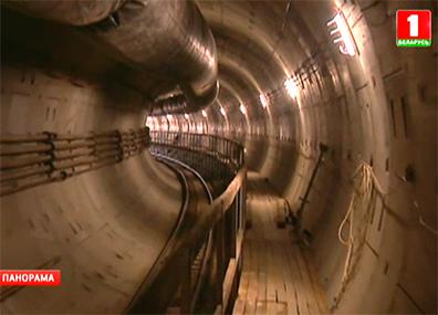 Интенсивными темпами идет строительство третьей ветки столичной подземки Інтэнсіўнымі тэмпамі ідзе будаўніцтва трэцяй  лініі  сталічнай падземкі Construction of 3rd branch of Minsk Metro under way