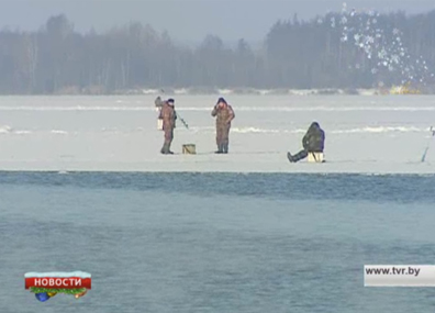 В трех областях Беларуси введен запрет выхода на лед У трох абласцях Беларусі ўведзеная забарона выхаду на лёд