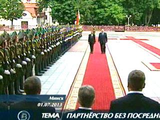 На неделе с официальным визитом в Беларуси находился Президент Лаоса На тыдні з афіцыйным візітам у Беларусі знаходзіўся Прэзідэнт Лаоса President of Laos pays official visit to Belarus