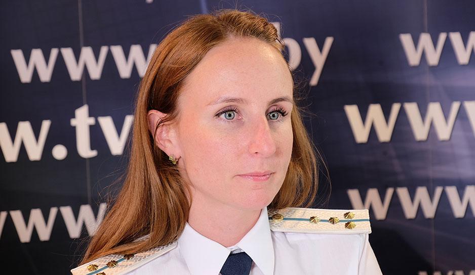 Екатерина Колб, начальник сектора контроля товаров для личного пользования Государственного таможенного комитета