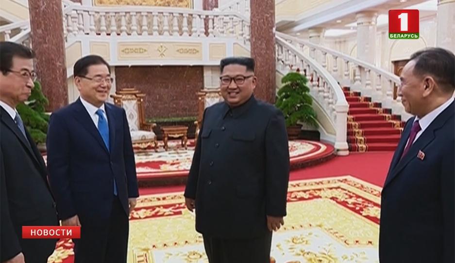 Ким Чен Ын снова подтвердил приверженность денуклеаризации Корейского полуострова Кім Чэн Ын ізноў пацвердзіў прыхільнасць дэнуклеарызацыі Карэйскага паўвострава