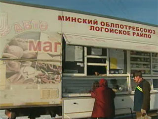 В Минской области насчитывается свыше 140 мобильных магазинов У Мінскай вобласці налічваецца звыш 140 мабільных магазінаў