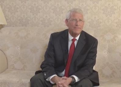 """Эксклюзивное интервью главы американской делегации, сенатора Роджера Уикера """"Главному эфиру"""""""