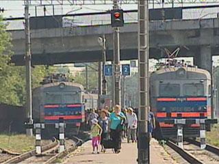 В Минске изменится движение поездов У Мінску зменіцца рух цягнікоў