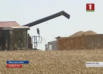 Белорусские военные включились в уборочную кампанию Беларускія вайскоўцы ўключыліся ва ўборачную кампанію