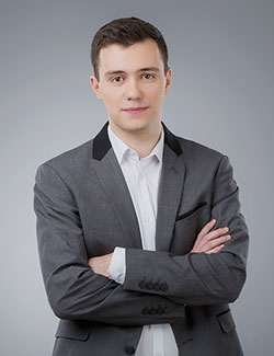 Александр Ярмош - ведущий Белтелерадиокомпании
