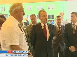 Михаил Мясникович посетил Витебский регион Міхаіл Мясніковіч наведаў Віцебскі рэгіён