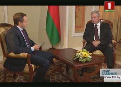 Эксклюзивное интервью с  Владимиром Семашко Эксклюзіўнае інтэрв'ю з  Уладзімірам Сямашкам