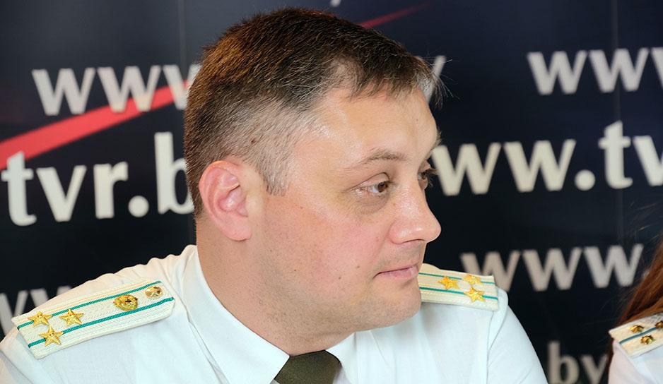 Кузьма Лесняк, начальник отдела управления пограничного контроля Госпогранкомитета